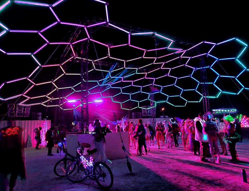 Hex Stage @ Burning Man 2019
