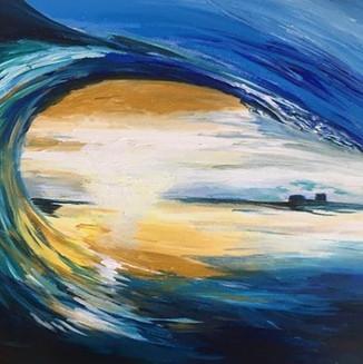 """Light the horizon"""
