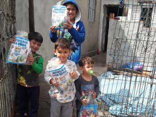 Projeto Classe de Boas Novas realiza entrega de doces para crianças em Colombo