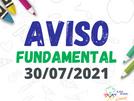 Comunicado - En. Fundamental - 30/07/2021