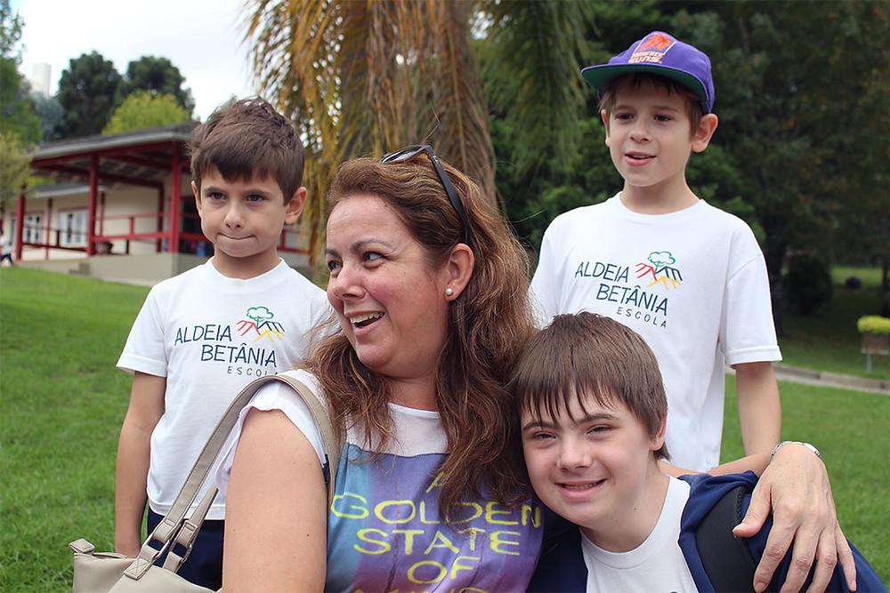 Família Hening, união foi a saída para a inclusão