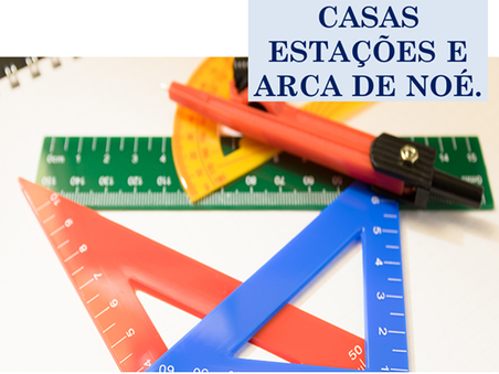 Atividades n°82 - Casas Estações e Arca de Noé - 11/06/2021