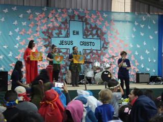 Veja como foi a celebração de Páscoa nas unidades educacionais da Irmandade
