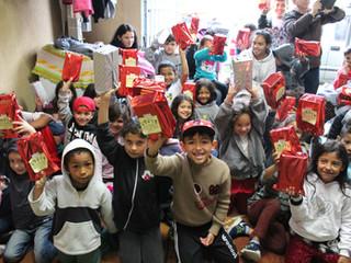 Um dia especial para as crianças nas Vilas Zumbi e Liberdade
