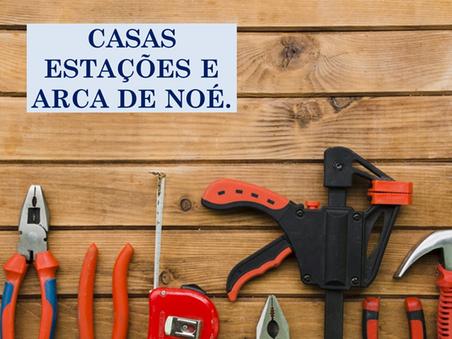 Atividades n°97 - Casas Estações e Arca de Noé - 02/07/2021