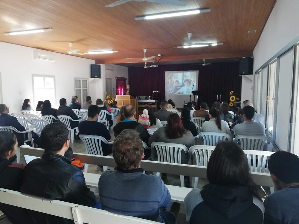 Igreja alemã localizada na região do Chaco