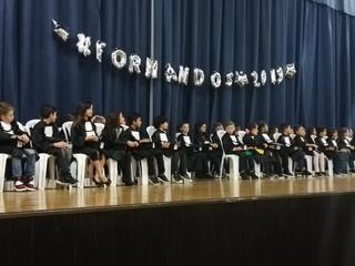 Escola Aldeia Betânia realiza formatura dos alunos do 5°ano do ensino fundamental