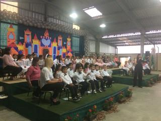 Centro de Educação e Inclusão Social Betânia comemora formatura de alunos na Educação Infantil