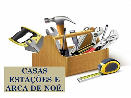 Atividades n°86 - Casas Estações e Arca de Noé - 17/06/2021