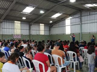 CEISB realiza primeira reunião de pais do ano