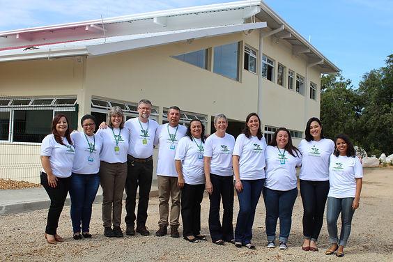 Equipe profissional da Escola Estância Betânia