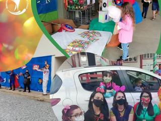 Unidades Educacionais celebram Dia das Crianças com festa e entrega de presentes
