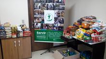 """Irmandade Betânia recebe 200 kg de alimentos da campanha """"Juntos contra a fome"""""""