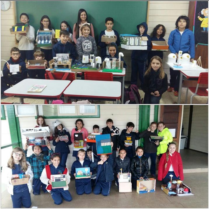 Final de semestre para os pequeninos da Escola Aldeia Betânia!