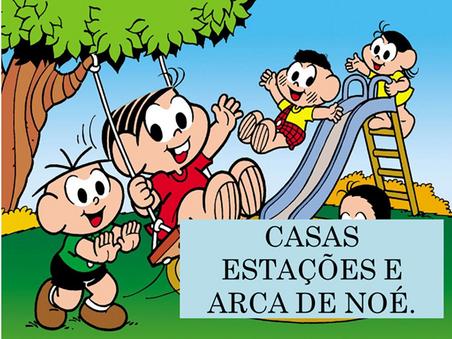 Atividades n°135 - Casas Estações e Arca de Noé - 10/09/2021