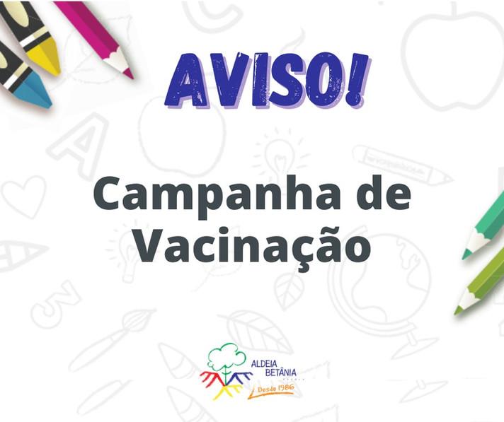 Campanha Nacional de Vacinação Contra a Poliomielite e Campanha Nacional de Multivacinação – 2020