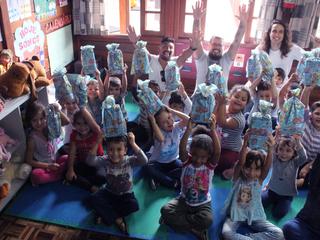 Parceiros realizam uma Páscoa especial na Irmandade Betânia