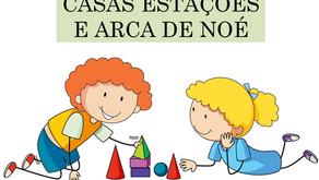 Atividades n°158 - Casas Estações e Arca de Noé - 19/10/2021