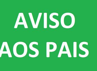 AVISO AOS PAIS