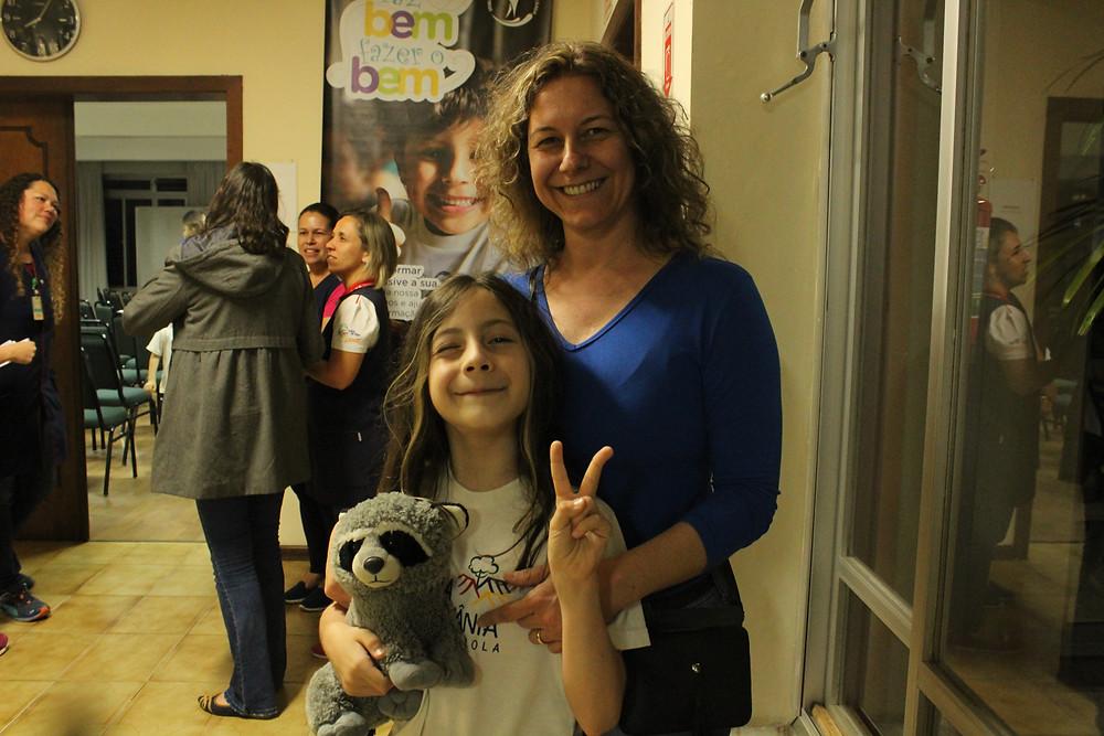"""Dorli Quimelato e sua filha Ana. """"Gosto da inovação""""."""
