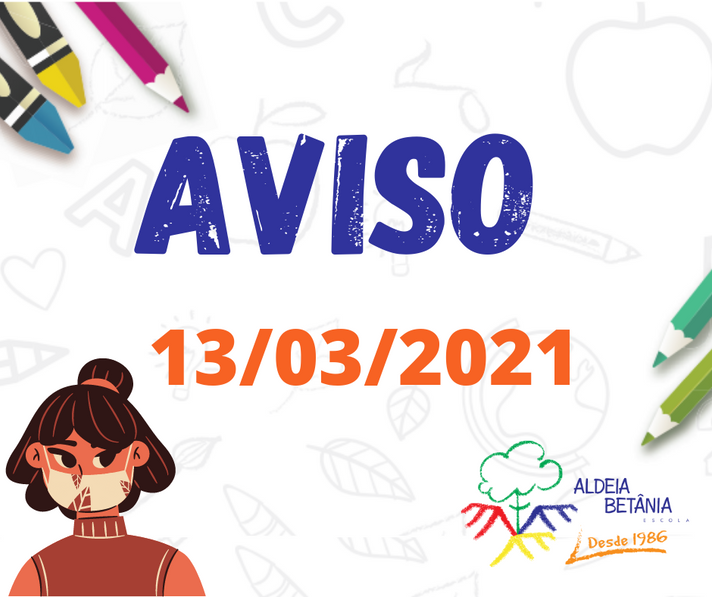 AVISO - 13/03/2021