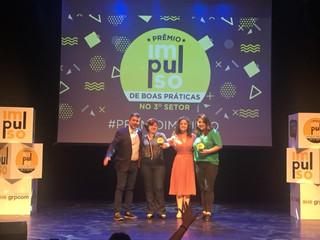 Irmandade Betânia é vencedora no Prêmio Impulso de Boas Práticas no 3°Setor na categoria liderança