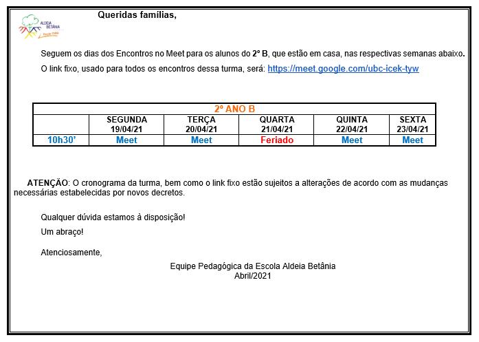 LInk Google Meeting