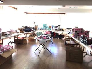 Irmandade Betânia realiza bazar com produtos apreendidos da Receita Federal