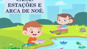 Atividades n°157 - Casas Estações e Arca de Noé - 18/10/2021
