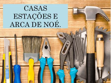 Atividades n°94 - Casas Estações e Arca de Noé - 29/06/2021
