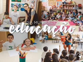 Unidades educacionais da Irmandade Betânia celebram Dia Mundial da Educação com atividades online