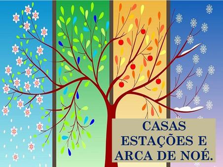 Atividades n°139 - Casas Estações e Arca de Noé - 16/09/2021