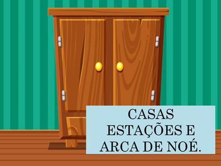 Atividades n°89 - Casas Estações e Arca de Noé - 22/06/2021