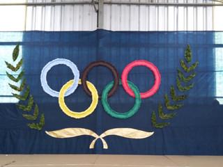 Família em foco: pais participam de gincana olímpica