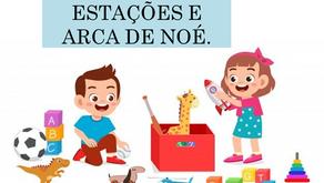 Atividades n°159 - Casas Estações e Arca de Noé - 20/10/2021