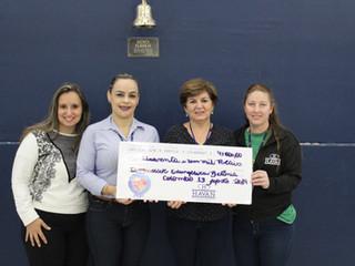 """HAVAN faz doação de """"Troco Solidário"""" arrecadado ao longo do primeiro semestre do ano"""