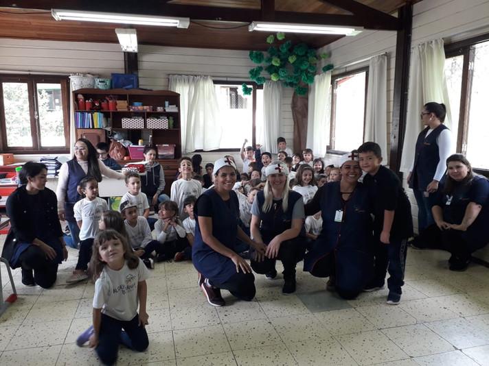 Escola Aldeia Betânia realiza momento de instrução para a prevenção contra o Coronavírus