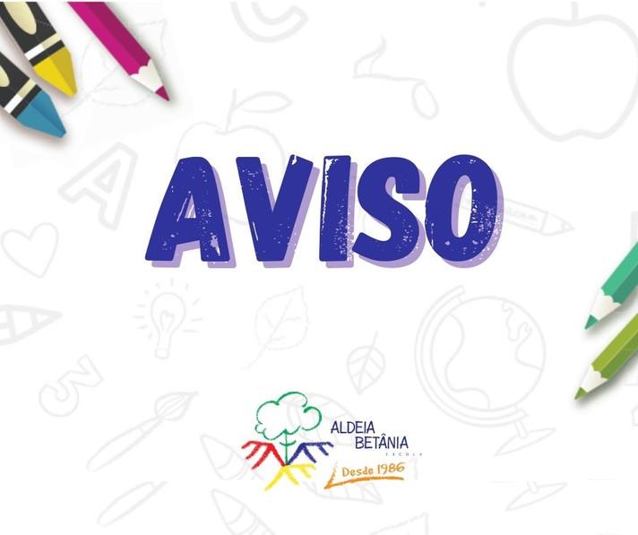 AVISO AOS PAIS 08/12/2020
