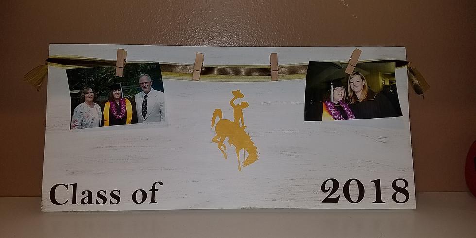 Graduation signature/picture sign