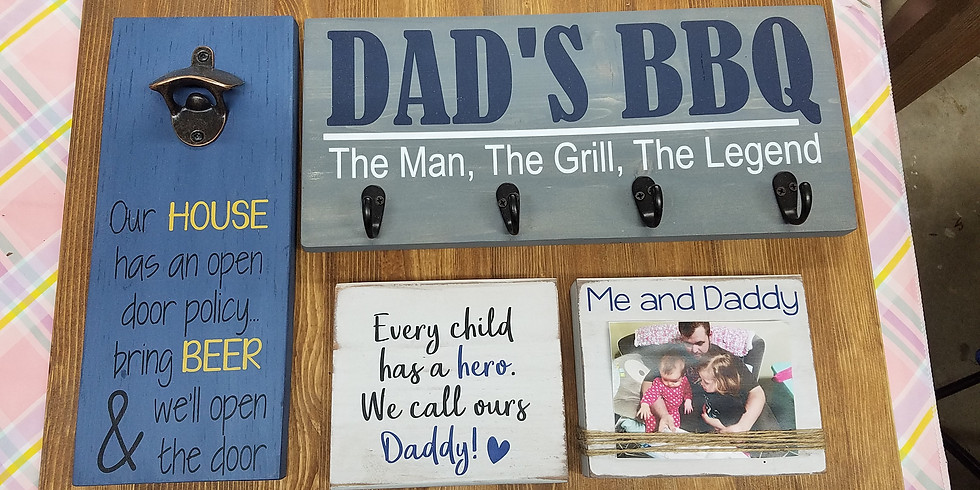 Father's Day projects