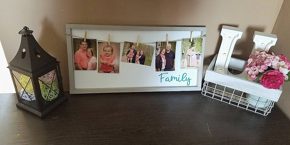 Janell's Private Party Clothesline Sign