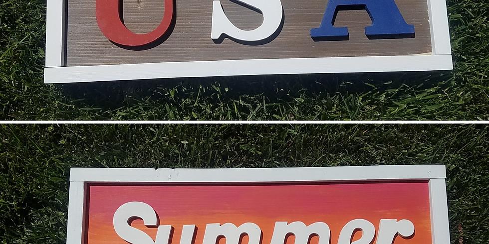 Summer or USA