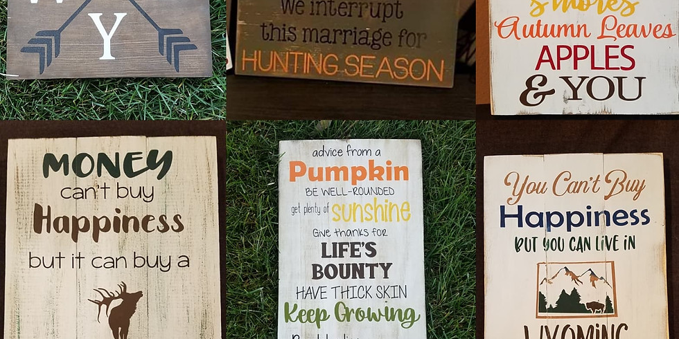 September Sign Party-Friday