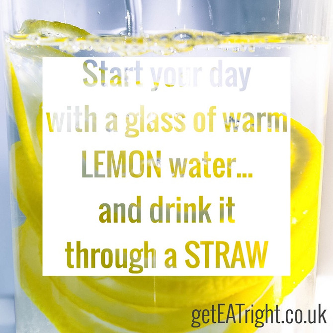 Why starting your day with LEMON water is such a good idea?