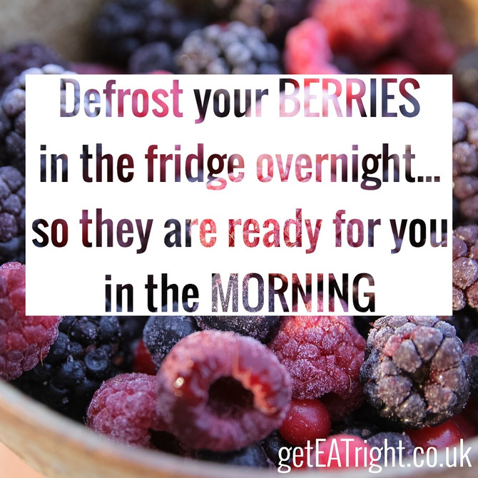 Love all the BERRIES...