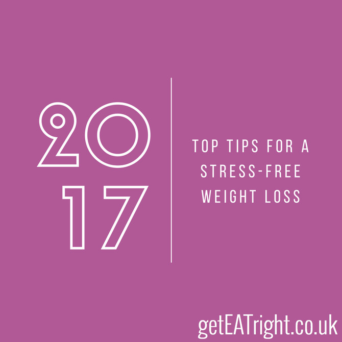 Top tips for a stress free weight loss