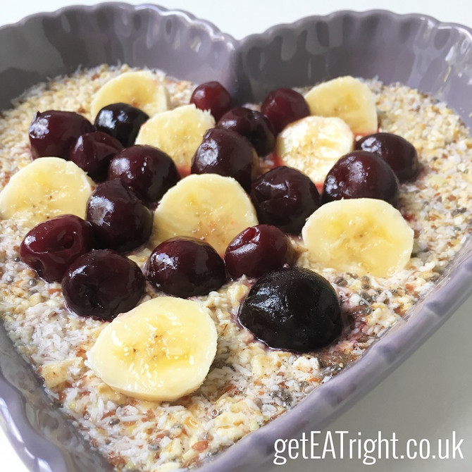 Overnight CHIA & OATS pudding RECIPE... A fantastic breakfast idea for busy people!