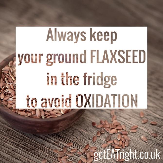 Fantastic flaxseed!