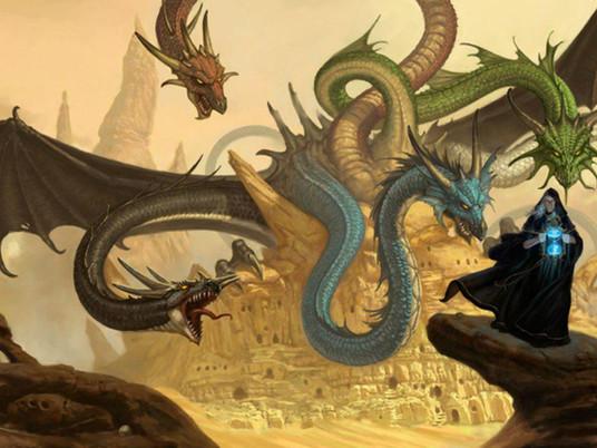 D&D 칼럼5: D&D의 세계들(5) 드래곤랜스