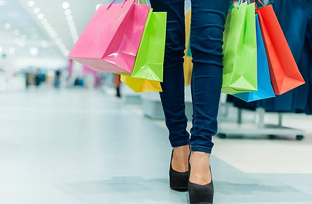 Financial Infidelity Woman Shopping